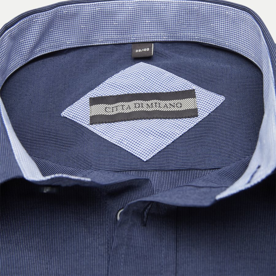 JAVIER - Shirts - Regular - NAVY - 5