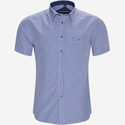 Neus Kortærmet Skjorte Regular   Neus Kortærmet Skjorte   Blå
