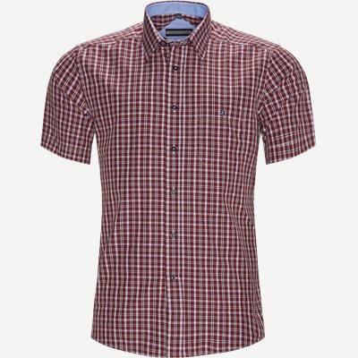 Alejandro Kortærmet Skjorte Regular   Alejandro Kortærmet Skjorte   Bordeaux