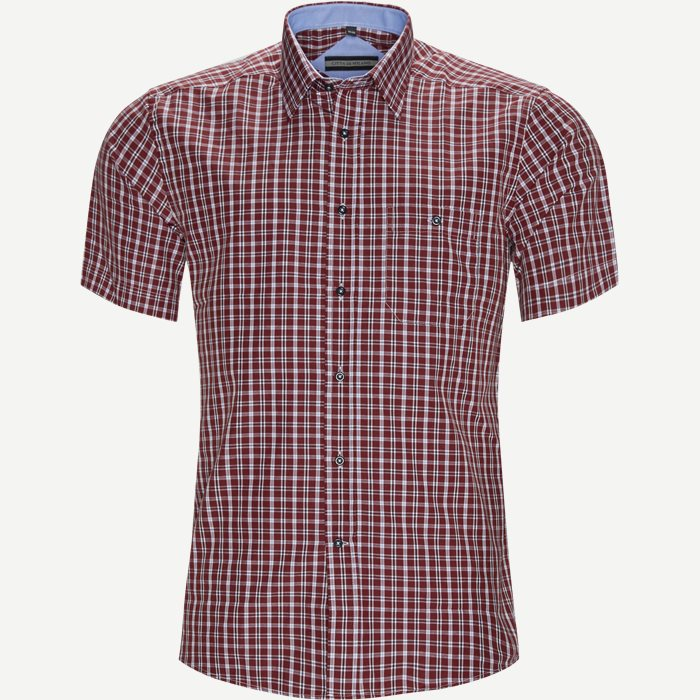 Shirt-sleeved shirts - Regular - Bordeaux