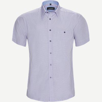 Miquel Kortærmet Skjorte Regular | Miquel Kortærmet Skjorte | Lilla