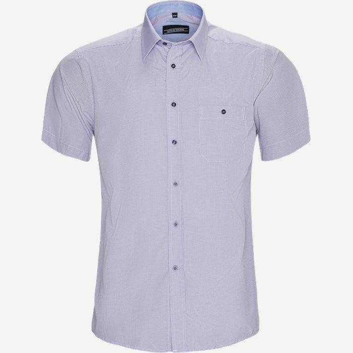 Kortärmade skjortor - Regular - Lila