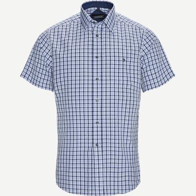 Estel Kortærmet Skjorte Regular | Estel Kortærmet Skjorte | Blå