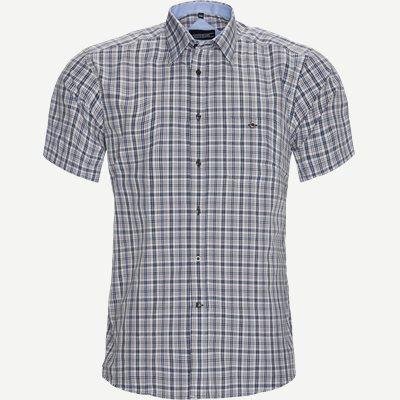 Lorenzo Kortærmet Skjorte Regular | Lorenzo Kortærmet Skjorte | Brun