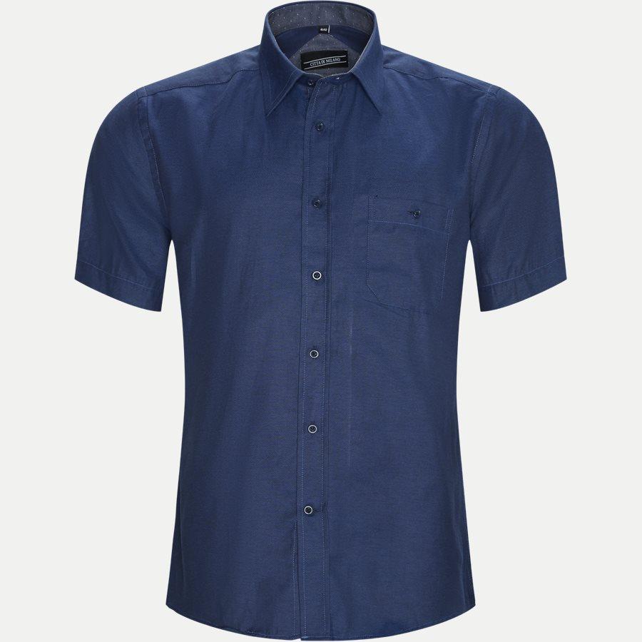 FERNANDO - Fernando Kortærmet Skjorte  - Skjorter - Regular - DENIM - 1
