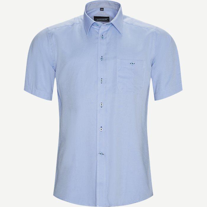 Fernando Kortærmet Skjorte  - Kortærmede skjorter - Regular - Blå