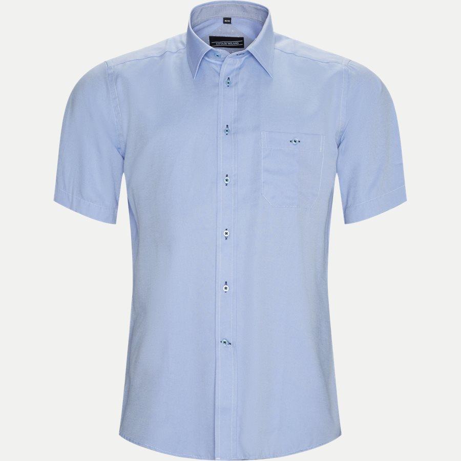 FERNANDO - Fernando Kortærmet Skjorte  - Skjorter - Regular - L.BLUE - 1