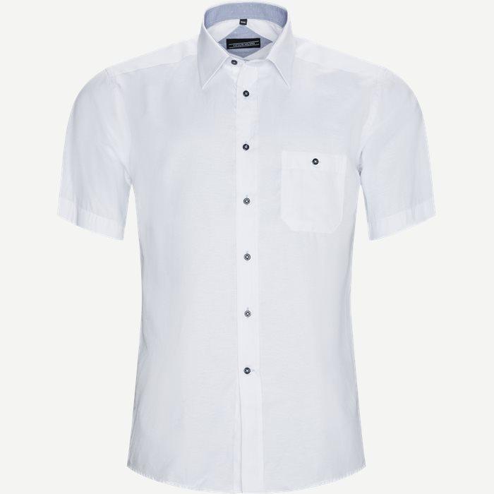 Fernando Kortærmet Skjorte  - Kortærmede skjorter - Regular - Hvid