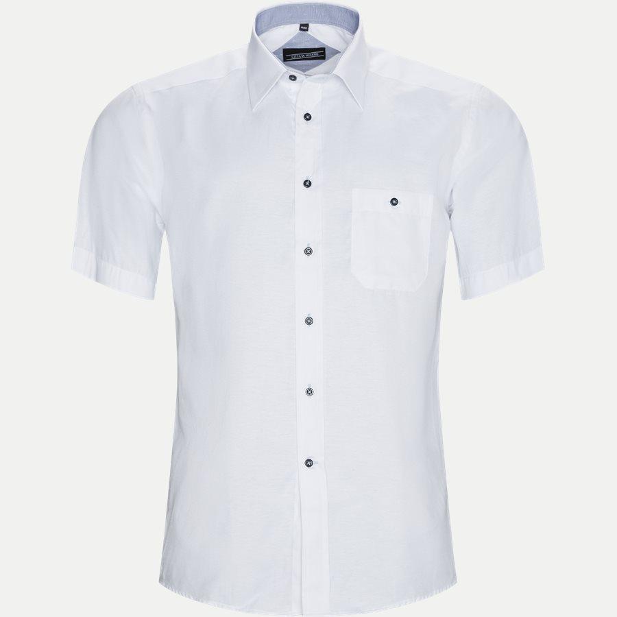 FERNANDO - Fernando Kortærmet Skjorte  - Skjorter - Regular - WHITE - 1