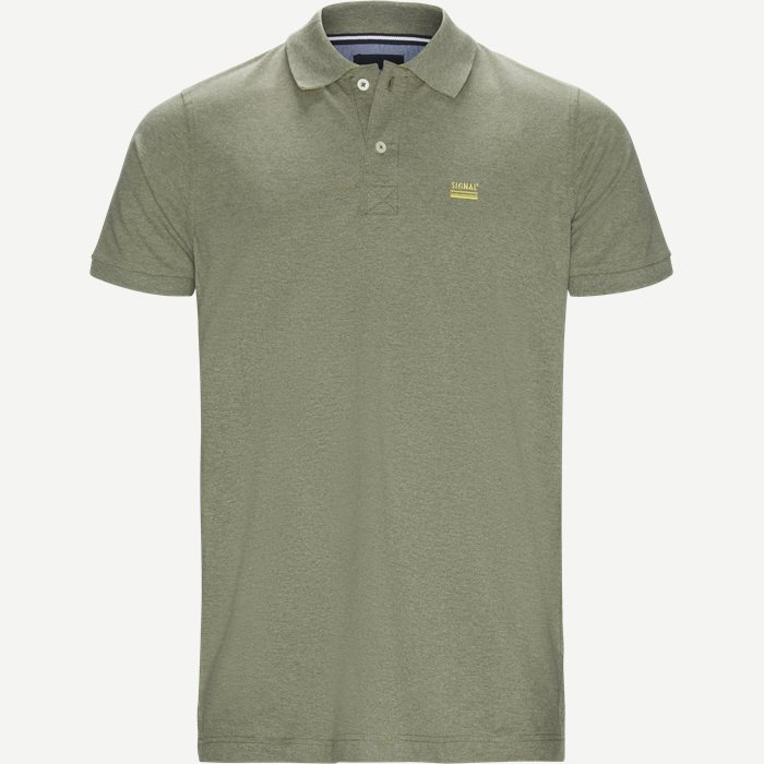 Nors KM Polo t-shirt - T-shirts - Regular - Army