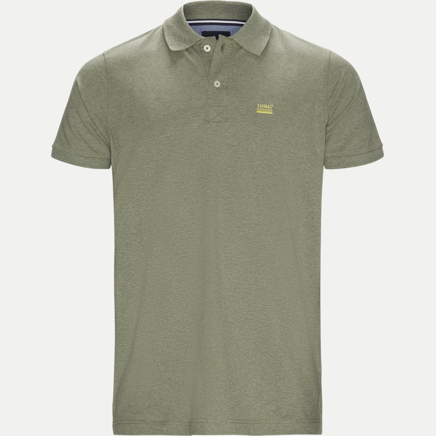 NORS S19 - Nors KM Polo t-shirt - T-shirts - Regular - ARMY - 1