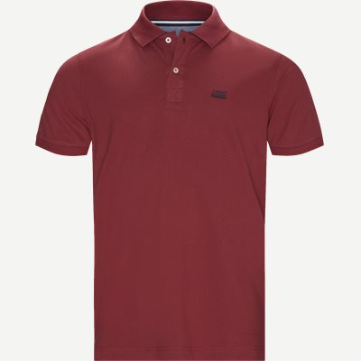 Nors KM Polo t-shirt Regular | Nors KM Polo t-shirt | Bordeaux