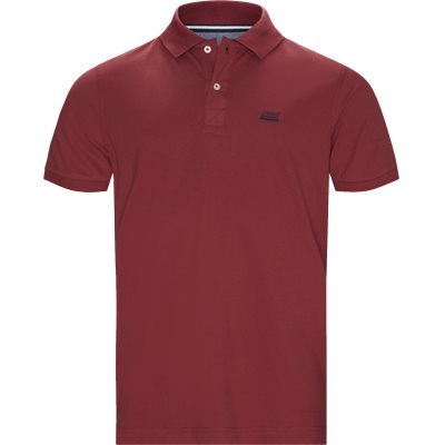 Nors KM Polo t-shirt Regular | Nors KM Polo t-shirt | Bordeaux