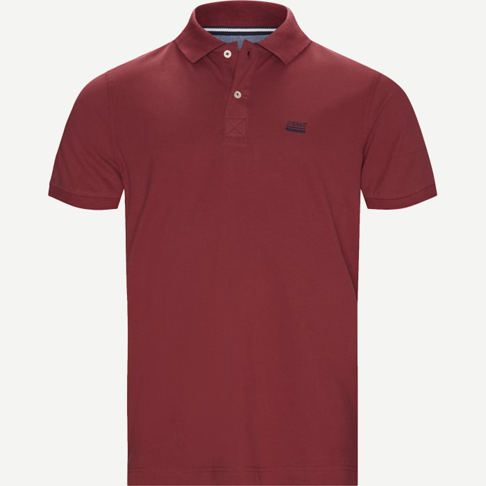 Nors KM Polo t-shirt - T-shirts - Regular - Bordeaux