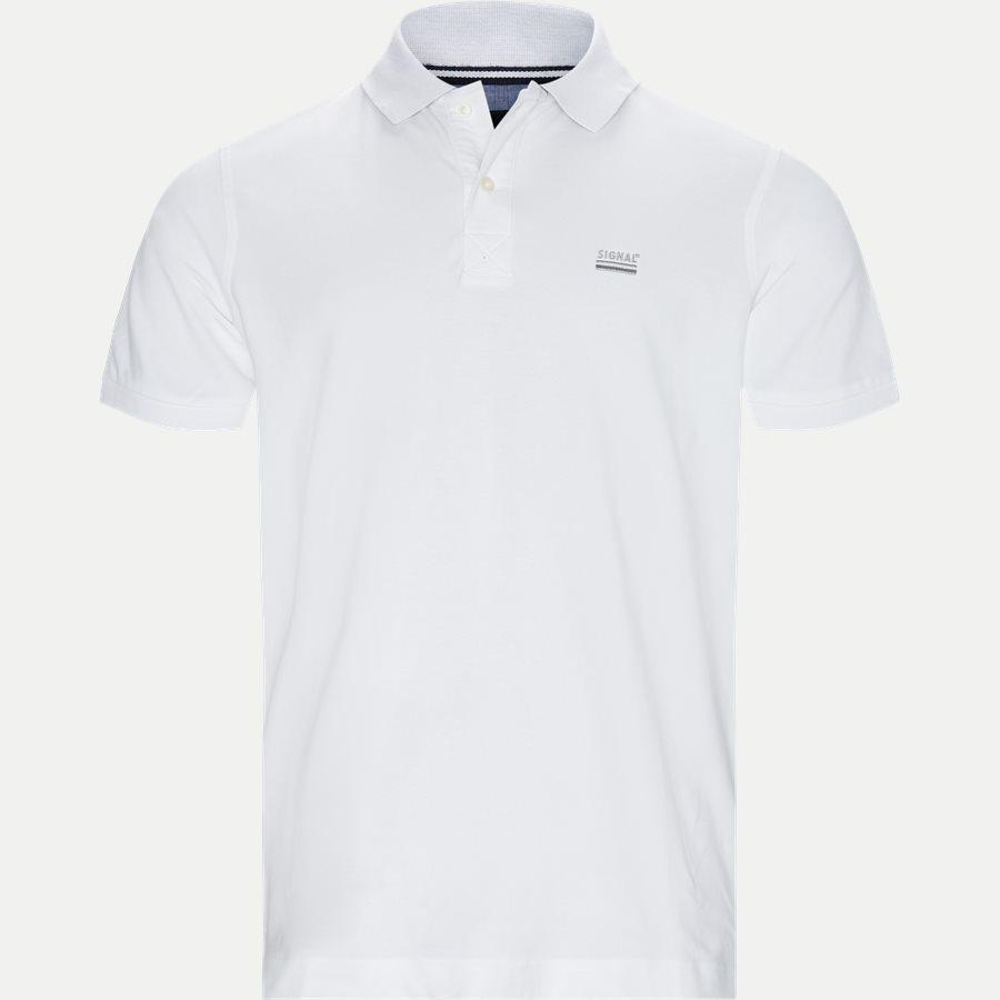 NORS S19 - Nors KM Polo t-shirt - T-shirts - Regular - HVID - 1