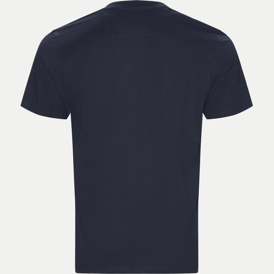 WAINE LOGO - Wayne Tee KM  - T-shirts - Regular - NAVY - 2