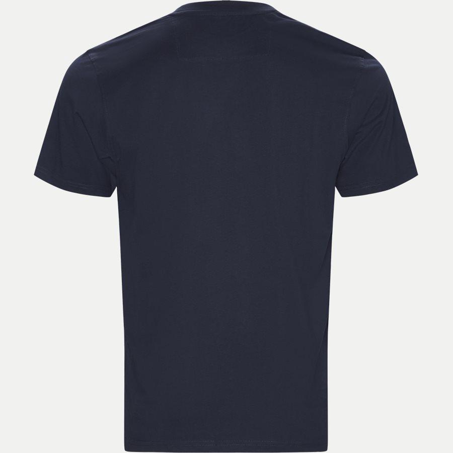WAINE LOGO - T-shirts - Regular - NAVY - 2