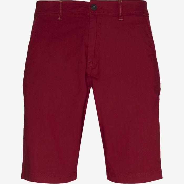 Vincent Shorts KM - Shorts - Regular - Bordeaux
