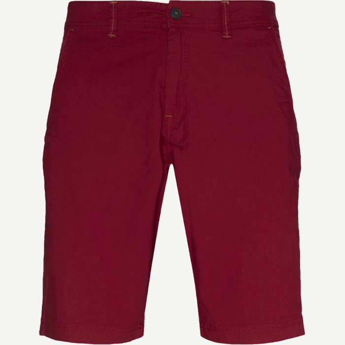 Shorts - Regular - Bordeaux