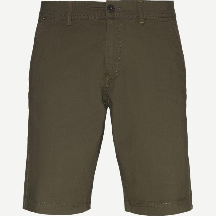 Vincent Shorts KM - Shorts - Regular - Army