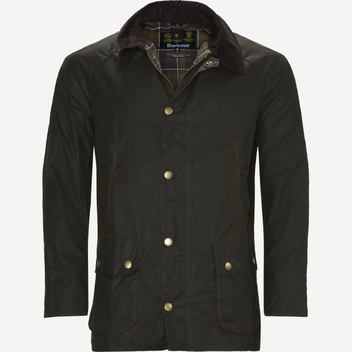 Ashby Waxed Jacket - Jakker - Slim - Army