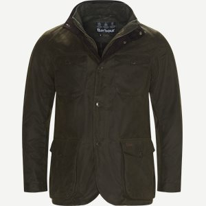 Ogston Waxed Jacket Regular | Ogston Waxed Jacket | Army