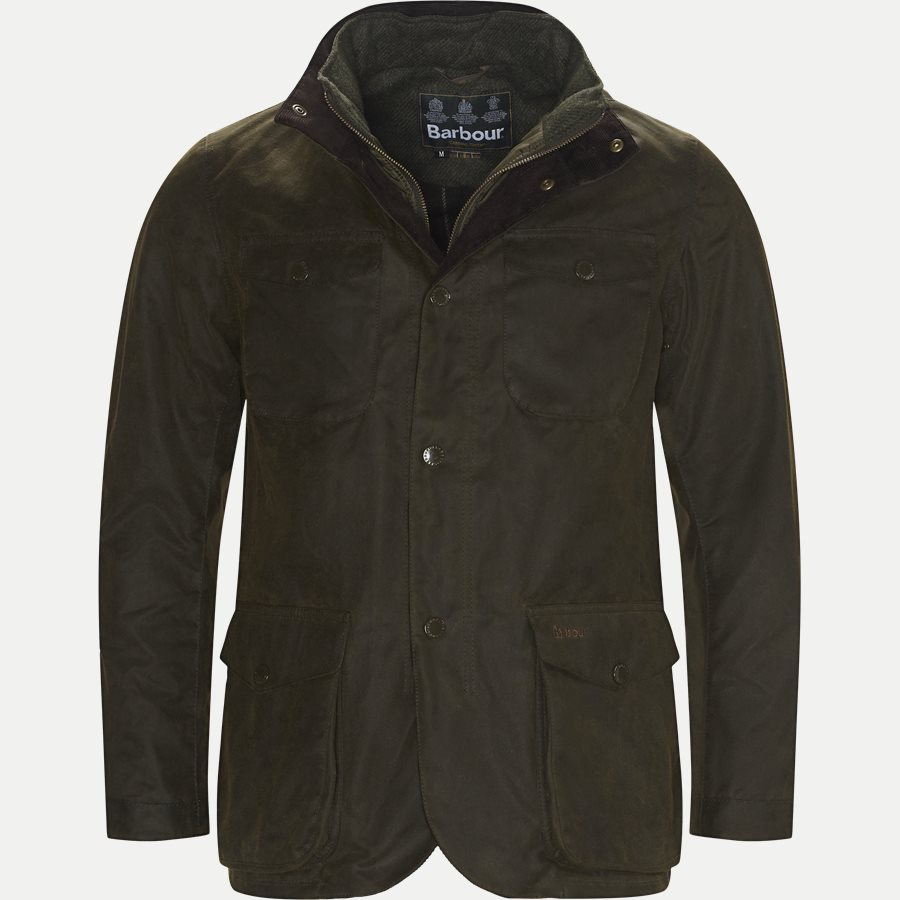 OGSTON - Ogston Waxed Jacket - Jakker - Regular - OLIVEN - 1