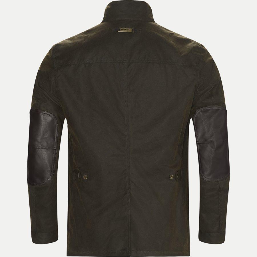 OGSTON - Ogston Waxed Jacket - Jakker - Regular - OLIVEN - 2