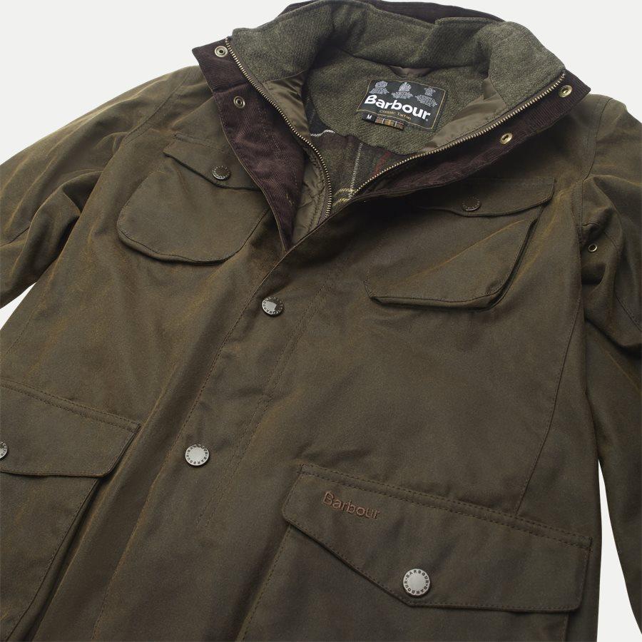 OGSTON - Ogston Waxed Jacket - Jakker - Regular - OLIVEN - 4