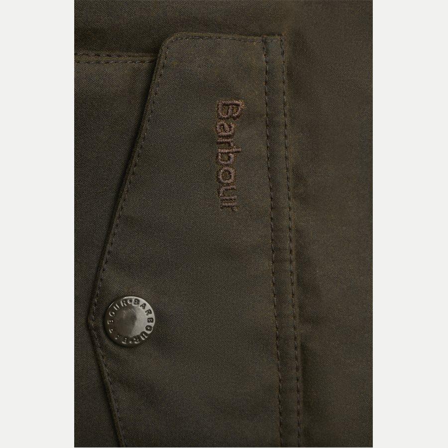 OGSTON - Ogston Waxed Jacket - Jakker - Regular - OLIVEN - 5
