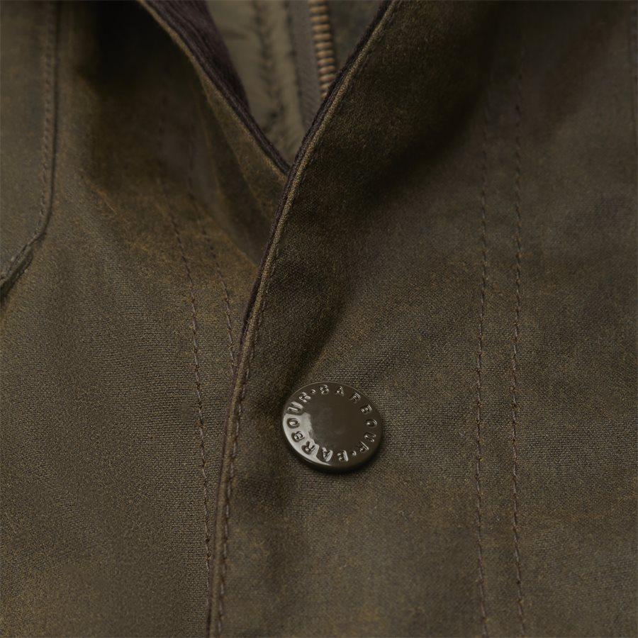 OGSTON - Ogston Waxed Jacket - Jakker - Regular - OLIVEN - 6