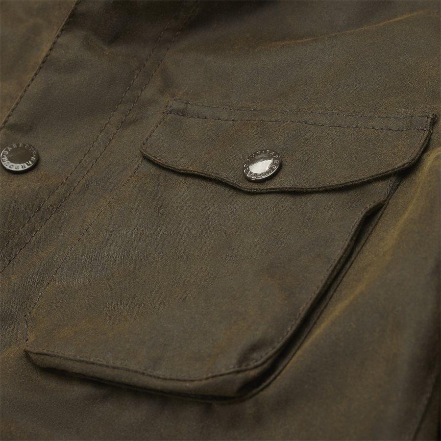 OGSTON - Ogston Waxed Jacket - Jakker - Regular - OLIVEN - 7