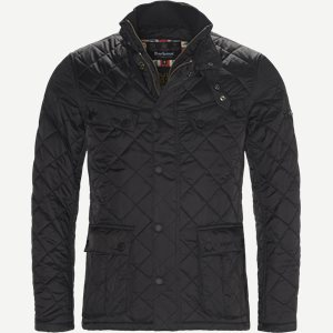 Windshield Quiltet Jacket Slim | Windshield Quiltet Jacket | Sort