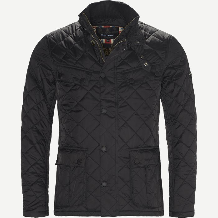 Windshield Quiltet Jacket - Jakker - Slim - Sort