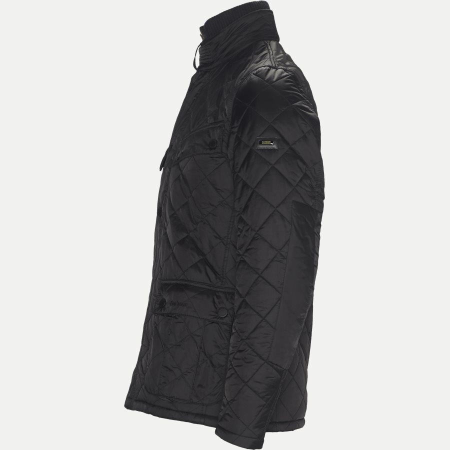 WINDSHIELD. - Windshield Quiltet Jacket - Jakker - Slim - SORT - 3