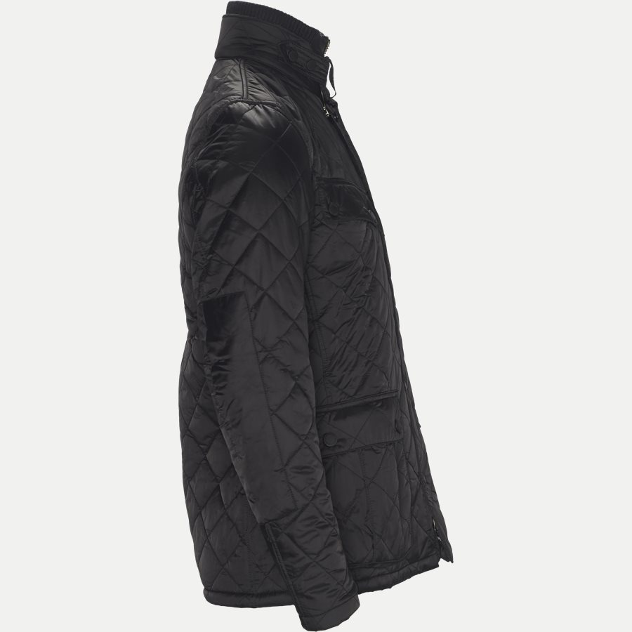 WINDSHIELD. - Windshield Quiltet Jacket - Jakker - Slim - SORT - 4