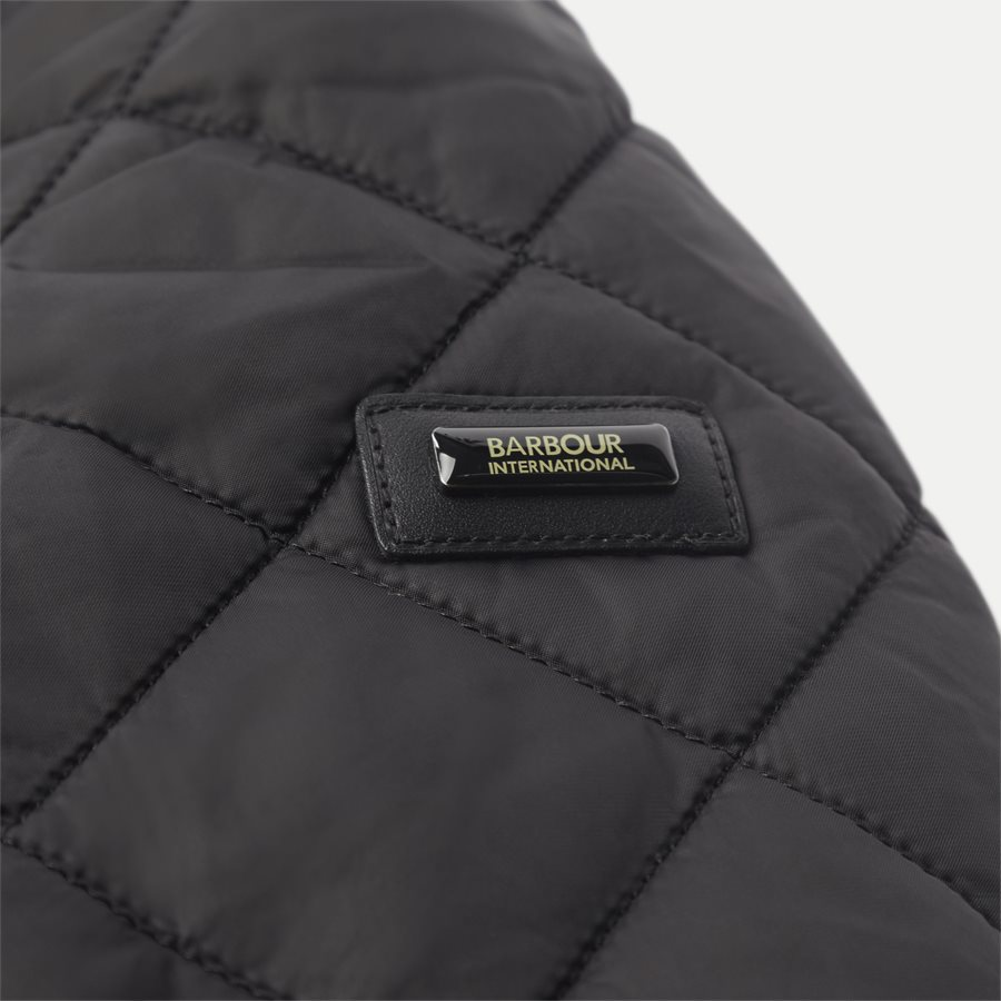 WINDSHIELD - Windshield Quiltet Jacket - Jakker - Slim - SORT - 7