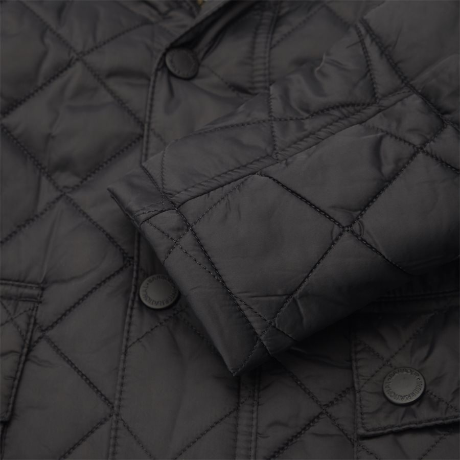 WINDSHIELD. - Windshield Quiltet Jacket - Jakker - Slim - SORT - 10