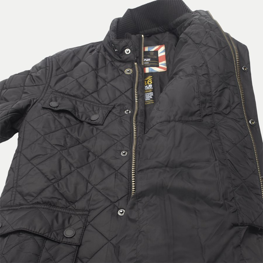 WINDSHIELD - Windshield Quiltet Jacket - Jakker - Slim - SORT - 12