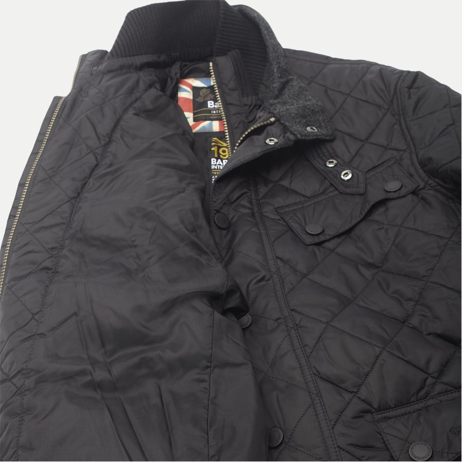 WINDSHIELD - Windshield Quiltet Jacket - Jakker - Slim - SORT - 13
