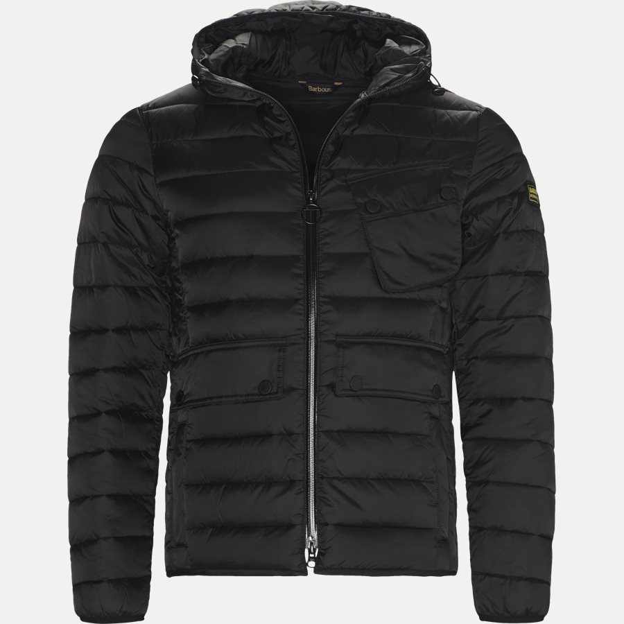 OUSTON - Ouston Fibredown Jacket - Jakker - Slim - SORT - 1