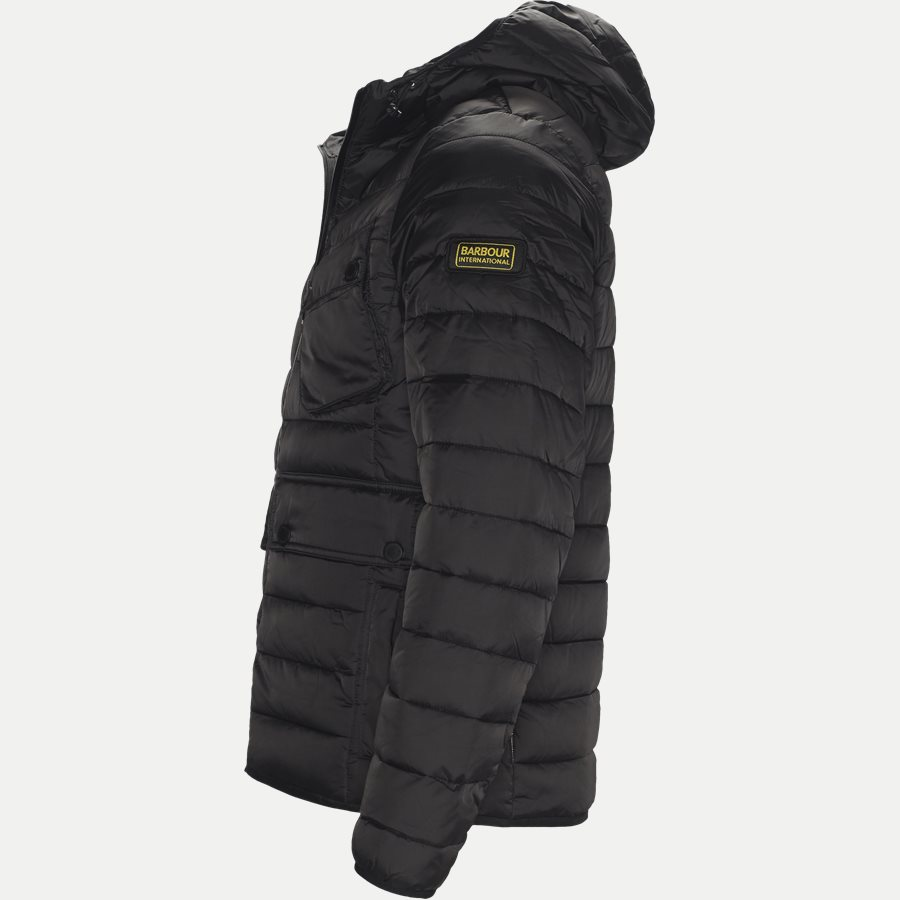 OUSTON - Ouston Fibredown Jacket - Jakker - Slim - SORT - 3