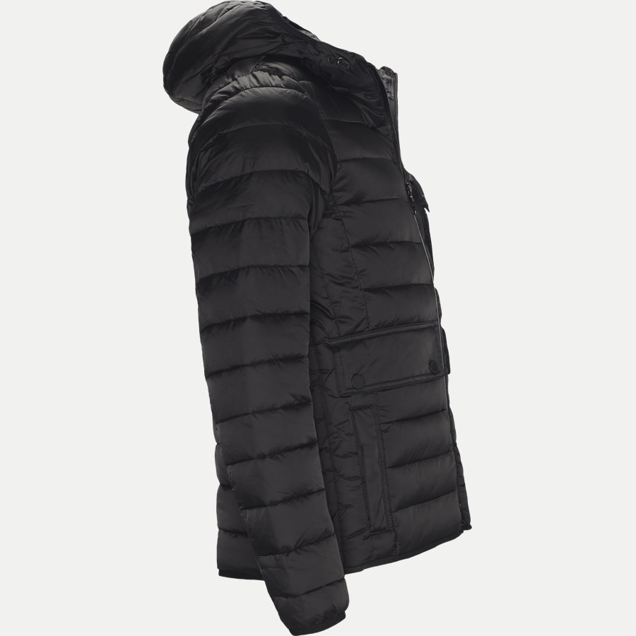 OUSTON - Ouston Fibredown Jacket - Jakker - Slim - SORT - 4