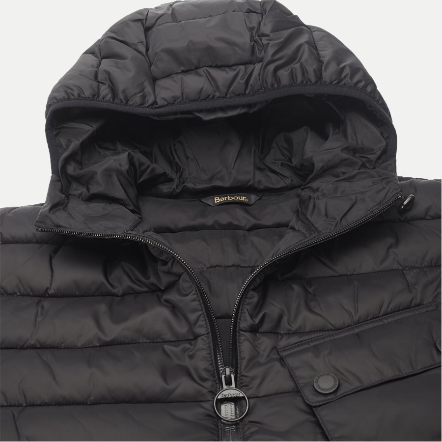 OUSTON - Ouston Fibredown Jacket - Jakker - Slim - SORT - 5