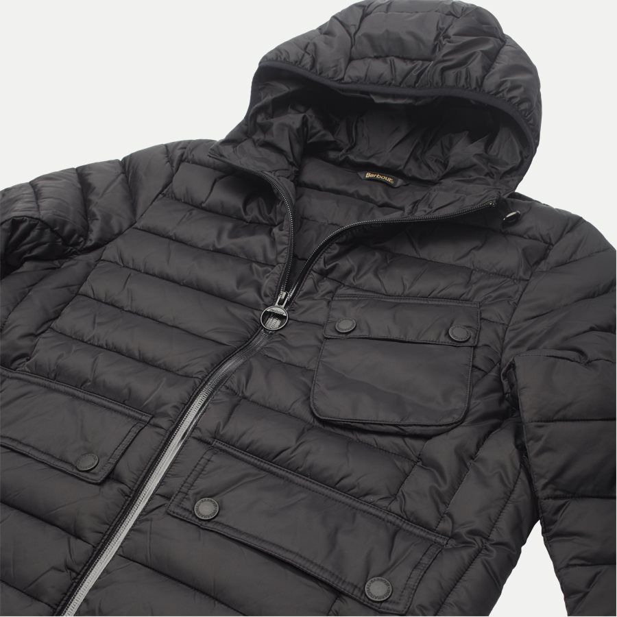 OUSTON - Ouston Fibredown Jacket - Jakker - Slim - SORT - 6