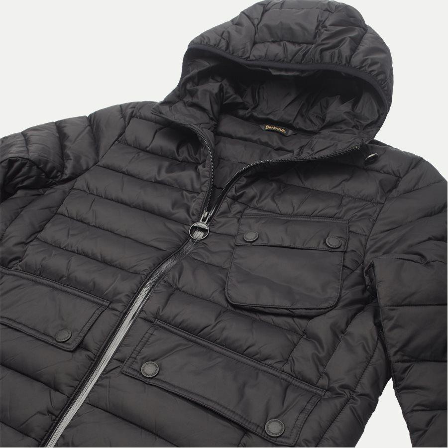 OUSTON. - Ouston Fibredown Jacket - Jakker - Slim - SORT - 6