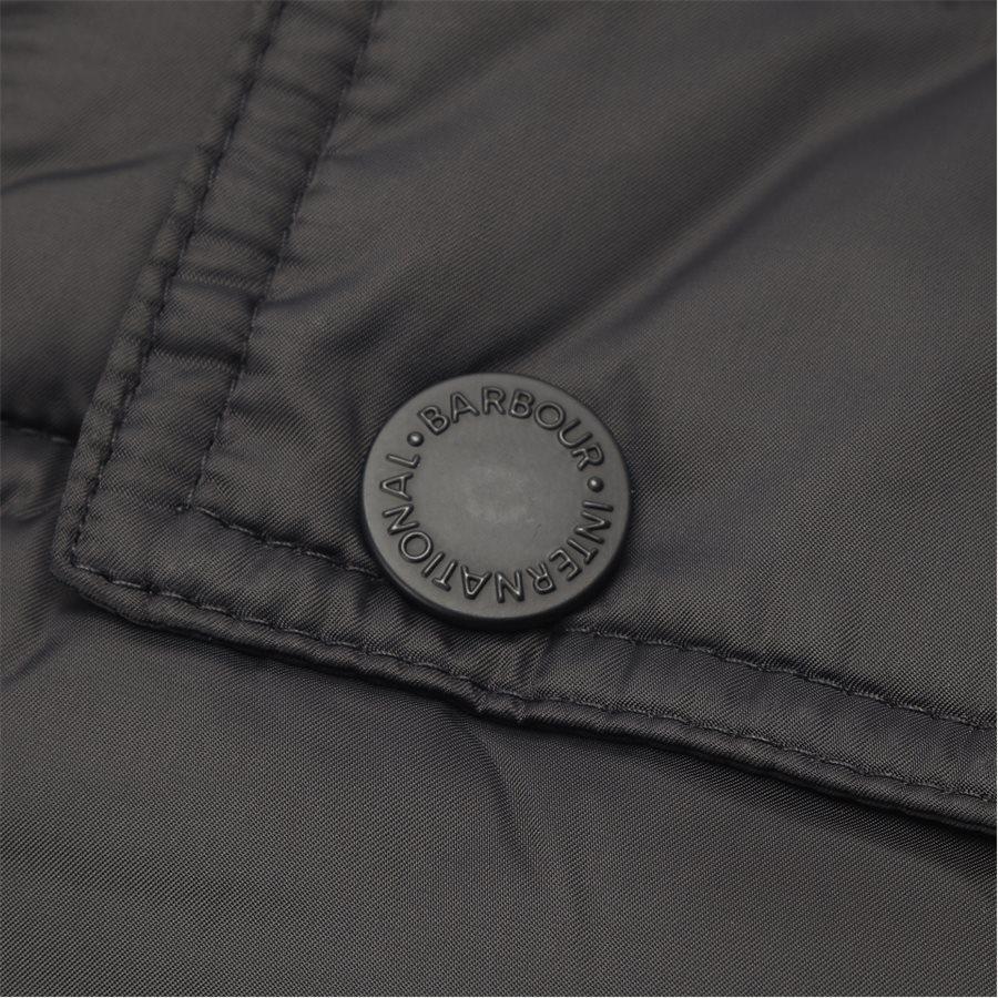 OUSTON. - Ouston Fibredown Jacket - Jakker - Slim - SORT - 7