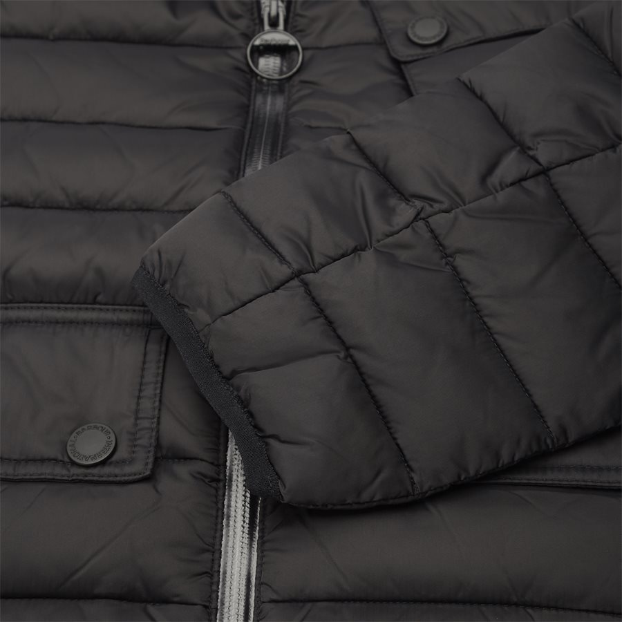 OUSTON - Ouston Fibredown Jacket - Jakker - Slim - SORT - 9