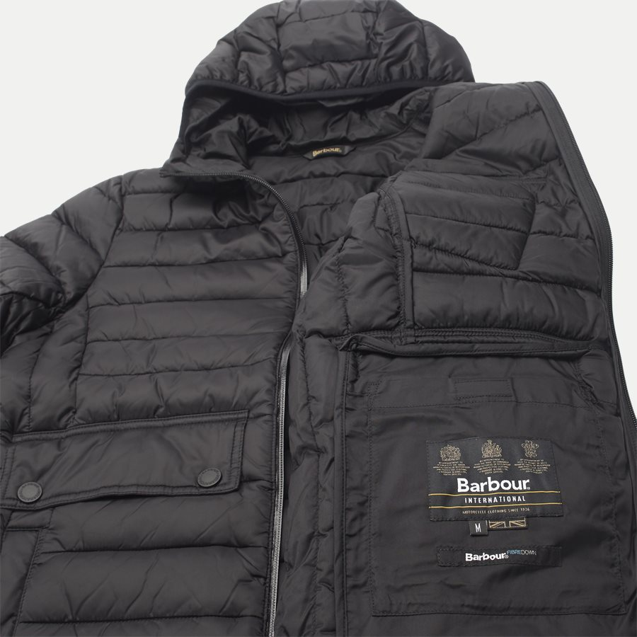 OUSTON. - Ouston Fibredown Jacket - Jakker - Slim - SORT - 11