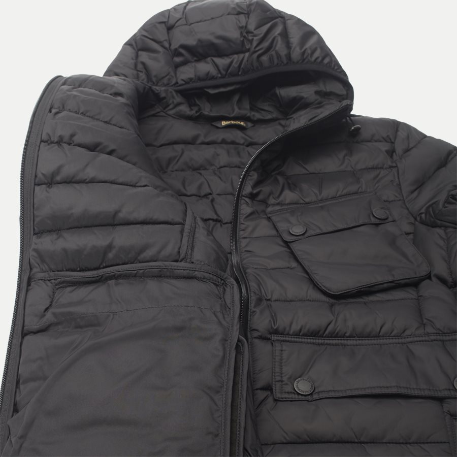 OUSTON - Ouston Fibredown Jacket - Jakker - Slim - SORT - 13